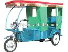eléctrico triciclo de motor del eje trasero