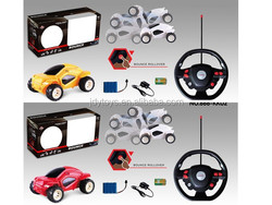 2 Mixed Back Flip Stunt Car with Charger, 2015 Hot Sale RC Stunt Car for Kids