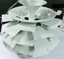 2015 unique artistic design modern pendant lamp / fashion pendant lamp /aluminum pendant lamp