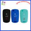 direct factory wholesale three button folding Hyundai Kia K3 car key cover silicone car key case