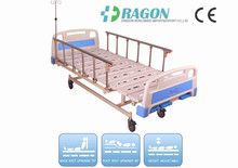 DW-BD152 cheap manual hospital bed price with 3 functions