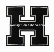 Team Spirit Wear/Uniforms chenille letter patch