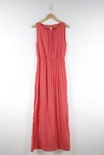 100% Rayon Elegant Sleeveless Long Umbrella Dress