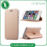 For leather iphone case 2015 New fashion design phone case PU Leather for iphone 6 plus case