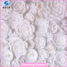 Christmas wedding decorations artificial flowers wall