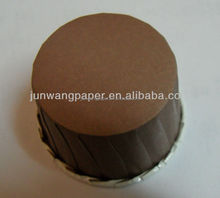 PE Coated Paper Candy cups Brown Color Wholesale