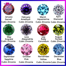 Round brilliant cut 5mm cubic zirconia sapphire blue birthstone diamond gemstones prices