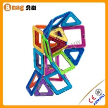 Safety magnetic triangle toy for children