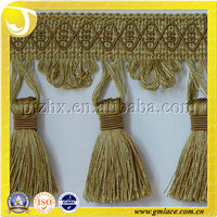 curtain fringe tassel trimming hot selling cheap and wholesale