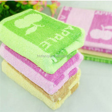 Cheap Price Jacquard Apple Towel 100% Cotton
