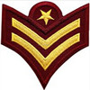 Customized type custom embroidery armband patches