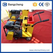 9hp 13hp concrete cut off machinery, hand guided concrete cutter