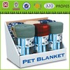 Cat and Dog Large Fleece Pet Blanket - Throw For Car, Lap, Sofa, Pet Bed, Crate, Kennel and Carrier