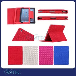 New fashion pu leather stand cover tablet case for ipad 234
