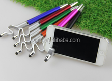 2015 new and hot phone holder pens with snake shape