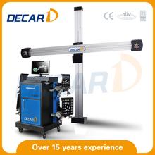 2015 car repair equipment, 3d wheel alignment/ car alignment machine/ wheel alignment equipment prices