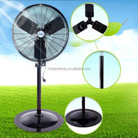 "2015 30""24""20""18"" 26"" industrial stand fan with copper powerful motor Manufactory"
