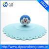 LFGB / FDA approved silicone tea cup cover/Durable Silicone Cup Cover for Porcelain Cup