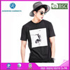 OEM factory with BV O neck 100 combed cotton t shirt,Black short sleeve tshirts,T-shirt latest design