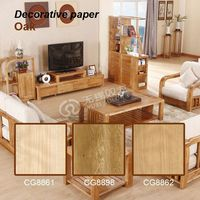 2015 new style decorative furniture PVC door covering paper