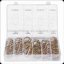 TC BV Certification 50pc Assorted Auto Lock Pin