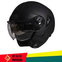 New Design ECE Double Visor Half Open Face Helmet
