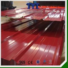 Colorful steel roofing sheet/prepainted steel roofing sheet/color steel roofing