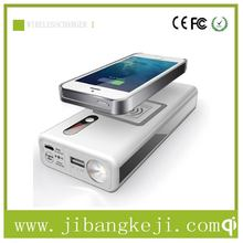 2015 latest Product!QI Wireless Charger for Samsung S6 QI Car Jump start QI wireless charging power Bank 12000mAh