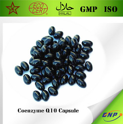 GMP Certified High quality water soluble Coenzyme Q10 Softgel capsule