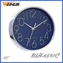 10 inch round promotion wall clock for sale