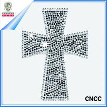 Custom bling crystal gems decorated unique car sticker/rhinestone car sticker