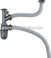 Sif n fregadero colador tubo de drenaje colectores for Precio sifon fregadero