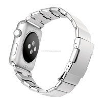 New for Apple Watch Band Stainless Steel, Luxury Metal Strap For Apple iWatch