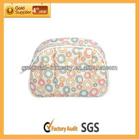 (GW-COSMETIC-074)microfiber quilted cosmetic bag