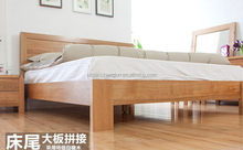 Super quality cheapest self assembly wooden bed