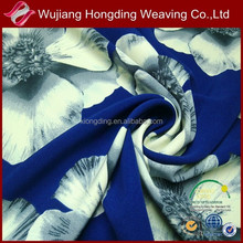 printed rayon spandex fabric/polyester printed stretch fabric
