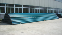 chemical sewage and waste water disposal fiber glass pipe