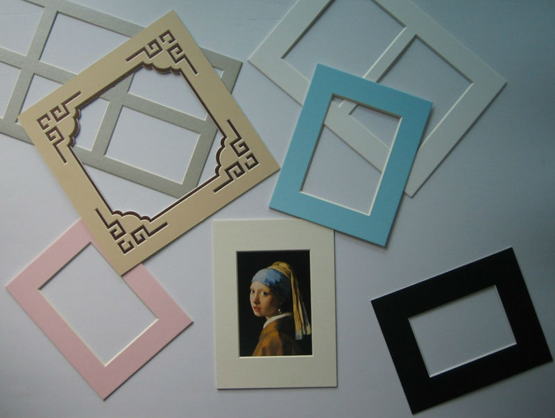 Matting Mat Board Picture Frame Mats 8ply Custom Passepartout Cut Or
