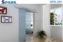 Modern Aluminum Alloy Glass Partition Sliding Interior Door