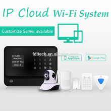 2015 new products GSM wifi home security alarm system Every zone can be set be independent zone