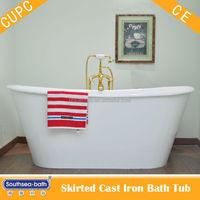 bathroom sanitary ware/ Enameled Iron Tub Hot Selling