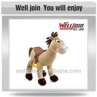 Customized lovely new design stuffed horse plush toys for kids
