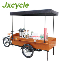 3 wheels mobile coffee carts for sale