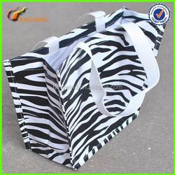(TWS7013) Promotional Cheap Custom Leopard Non Woven Bag,Promotional PP Non Woven Shopping Bag,High Quality Non Woven Tote Bag