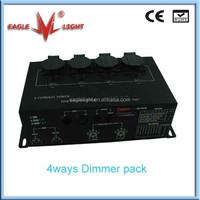 4ways dmx dimmer pack