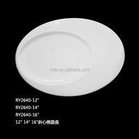 Wholesale ceramic plate cheap bulk white porcelain dinner plates for wedding