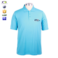 Customized printing dryfit fake polo t shirt