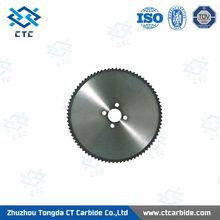Supply tungsten carbide saw blade for channel cutting