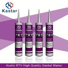for acid RTV room temperature hardening silicone glue