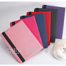 commerce grade leather flip cover case for ipad 6 air 2